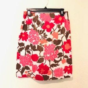 Ann Taylor knee length pencil skirt.